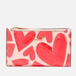 Kate Spade spencer ever fallen slim bifold wallet
